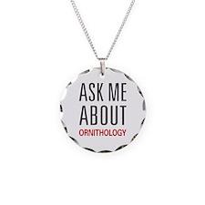 Ask Me About Ornithology Necklace