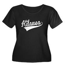 Kilauea, Retro, Plus Size T-Shirt