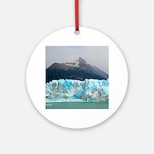 Ice Mountain Ornament (Round)