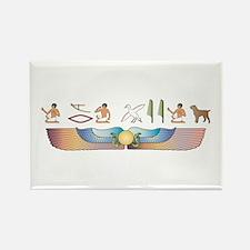 Griffon Hieroglyphs Rectangle Magnet