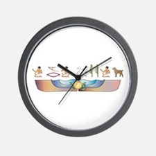 Griffon Hieroglyphs Wall Clock
