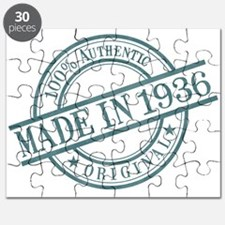 Made in 1936 Puzzle