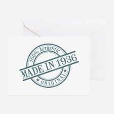 Made in 1936 Greeting Card