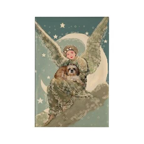 Heaven Sent Shih Tzu Rectangle Magnet (100 pack)