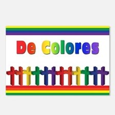 Marching Rainbow Crosses Postcards (Package of 8)