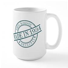 Made in 1934 Mug