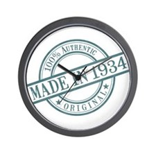 Made in 1934 Wall Clock