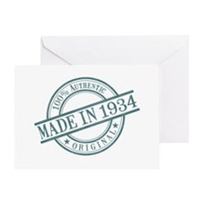 Made in 1934 Greeting Card