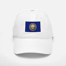 New Hampshire Flag Baseball Baseball Cap
