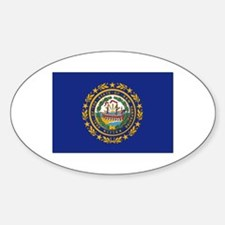 New Hampshire Flag Decal