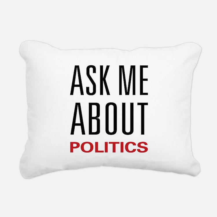 2-askpolitics.png Rectangular Canvas Pillow