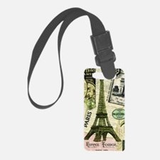Everything Paris Luggage Tag