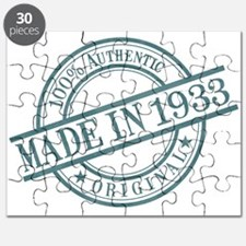 Made in 1933 Puzzle