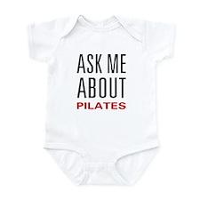 Ask Me Pilates Infant Bodysuit