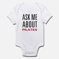 Ask Me Pilates Infant Bodysuit