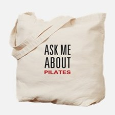 Ask Me Pilates Tote Bag