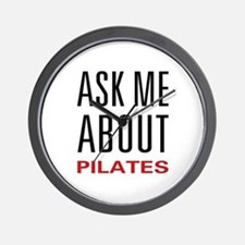Ask Me Pilates Wall Clock
