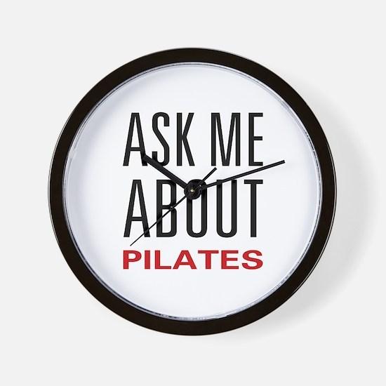 Ask Me Pilates Wall Clock