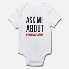 Ask Me Photography Infant Bodysuit
