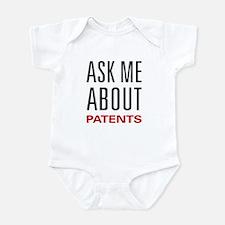 Ask Me About Patents Infant Bodysuit