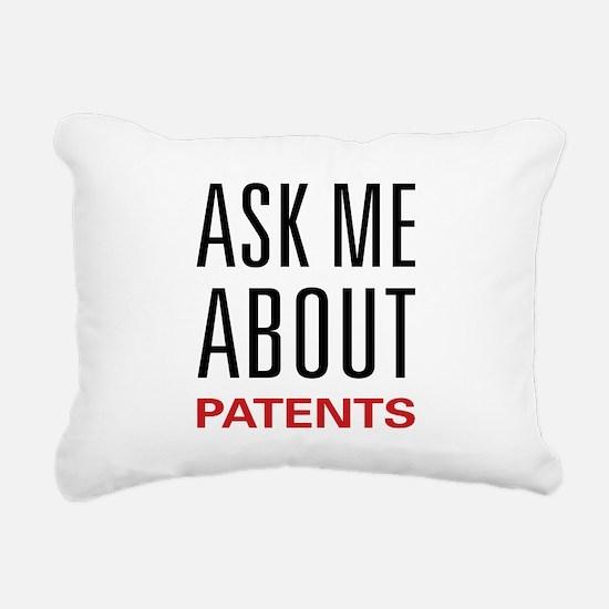 2-askpatent.png Rectangular Canvas Pillow