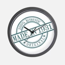 Made in 1931 Wall Clock