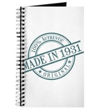 Made in 1931 Journal
