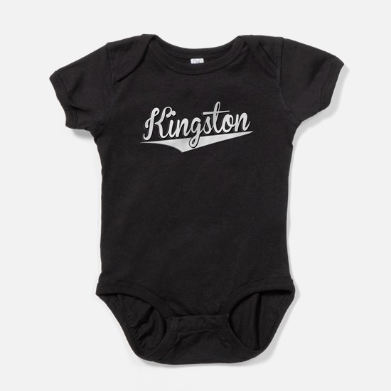 Kingston, Retro, Baby Bodysuit