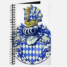 Medieval Bavarian Coat of Arms Crest Journal