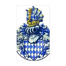 Medieval Bavarian Coat of Arms Decal