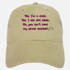 Yes I Ride Dirtbikes Hat (Khaki)