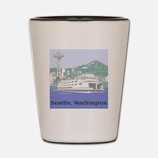 Seattle Washington Shot Glass