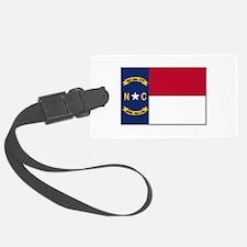 North Carolina Flag Luggage Tag