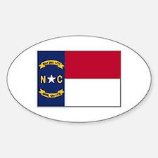North Carolina Flag Decal