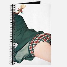 Blonde Scottish Pin Up Girl Journal
