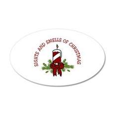 SIGHTS AND SMELLS OF CHRISTMAS Wall Decal