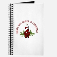 SIGHTS AND SMELLS OF CHRISTMAS Journal
