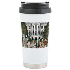 Us presidents at the wh Travel Mug