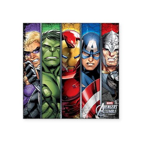 Superhero Sticker Book: Blank Sticker Book, 8 x 10, 64 Pages