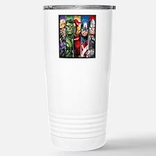Avengers Stripes Travel Mug