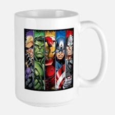 Avengers Stripes Large Mug