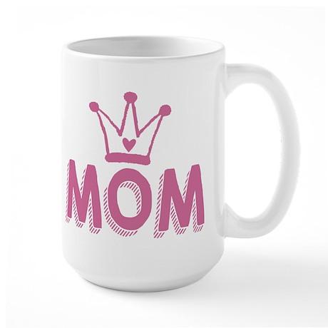 Mom deserves a crown Mugs