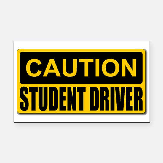 Student Driver Magnet Rectangle Car Magnet