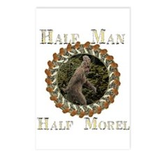 Half man half morel Postcards (Package of 8)