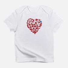 Georgia Heart Infant T-Shirt
