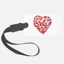 Georgia Heart Luggage Tag