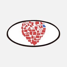 Georgia Heart Patches