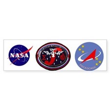 ISS Houston Support Group Bumper Sticker