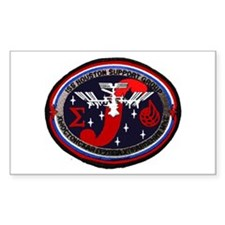 ISS Houston Support Group Decal