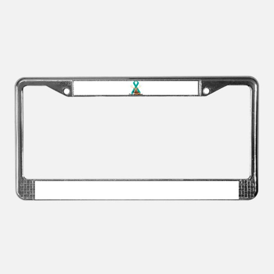 Ovarian Cancer License Plate Frame